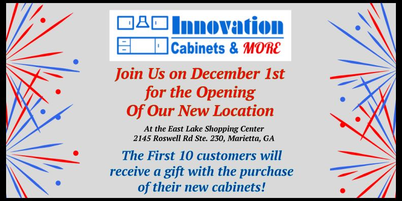 Join us on December 1st for the opening of our new location